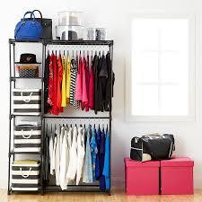 image of diy free standing closet