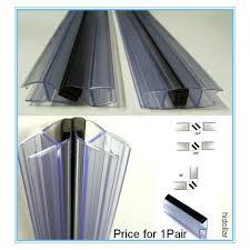 magnetic shower door strips magnetic plastic shower screen door water seal strip lining frameless shower screen
