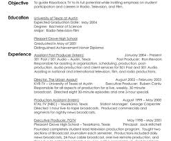 Television Production Engineer Resume Beautiful Television Production Engineer Resume With Additional 7