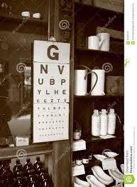 Vintage Eye Chart Light Box Vintage Eye Chart Stock Image Image Of Visual Retro 26205617