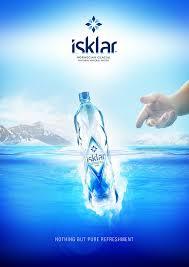 ISKLAR | Water branding, <b>Water bottle</b> design, Water poster - Pinterest