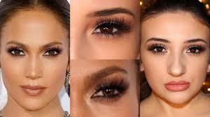 peoples choice awards jlo makeup tutorial 2017 angeline roper
