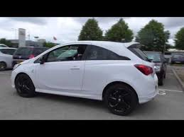 vauxhall new corsa 3 door limited edition 1 4i 90ps u18271