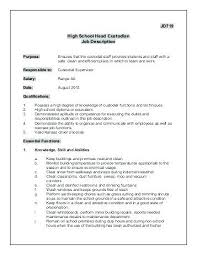 Custodial Worker Resume Mmventures Co