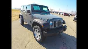 2015 Jeep Wrangler Color Chart New 2015 Jeep Wrangler Unlimited Sport Anvil Grey Jeep Wrangler For Sale 17800