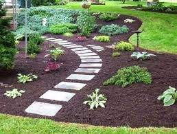 building garden path make a simple from recycled or cobblestones set on sand wooden gates paths