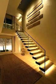 stair lighting led. Interior Stairwell Lighting Stair Lights Indoor Step Led Homes Modern Lamp