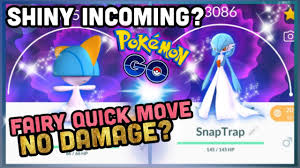 SHINY RALTS & FAIRY QUICK MOVE TO DEAL NO DAMAGE IN POKEMON GO? - YouTube