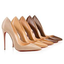 7 Reasons To Step Into Christian Louboutin s Upgraded Nudes.