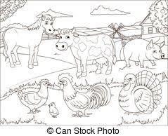 farm fence drawing. Coloring Book Farm Cartoon Educational Fence Drawing