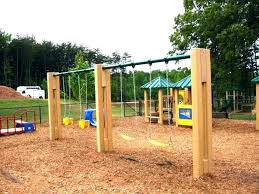 build own swing set wooden plans free porch frame simple diy basic
