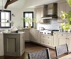 taupe color kitchen kitchen cabinets in true taupe cabinet paint with angora accents best taupe paint color for kitchen cabinets