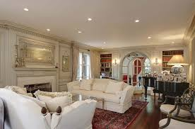 Elegant and Sophisticated Living Room Interior Design of The Paxton House  by Reginald Johnson, California