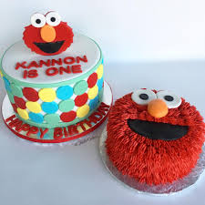 Jadie Cakes Elmo Themed Party Cake And Smash Cake For Facebook