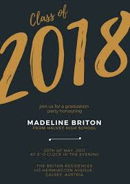 Online Invite Templates Extraordinary Customize 48 Graduation Invitation Templates Online Canva