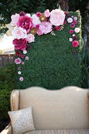 Paper Flower Wedding Backdrops 30 Budget Friendly Paper Flower Wedding Ideas Weddingomania