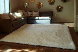 sheepskin runner rug black fur mat flokati faux fur rugs white fur faux
