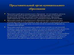 лек Представительный орган муниципального образования 2