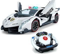 Remote Control Police Car With Working Lights And Siren Buy Remote Control Police Car 4d Motion Gravity And