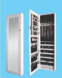 btexpert premium wooden jewelry armoire