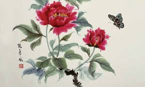 chinese painting books watercolour painting
