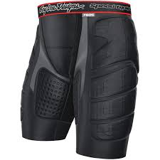 Troy Lee Designs Protection Troy Lee Designs Lps 7605 Protection Short Mens Solid Black Xl