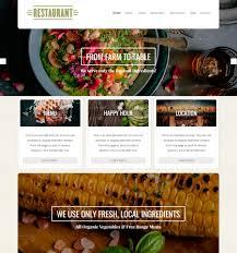 Wp Restaurant Themes Restaurant Theme Beautiful Responsive Wordpress Themes