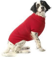 Petrageous Designs Dog Sweater Petrageous Designs Baxters Basic Dog Cat Sweater Large Red