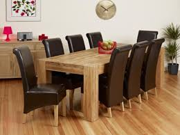 round dining room tables seats 8 oak dining table and chairs solid oak round dining table