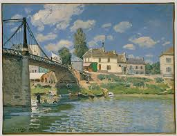 impressionism art and modernity essay heilbrunn timeline of  the bridge at villeneuve la garenne
