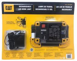 Cat Rechargeable Work Light Charger Cat Rechargeable Led Work Light High 1100 Low 550 Lumens