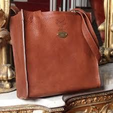 9b tote vintage brown