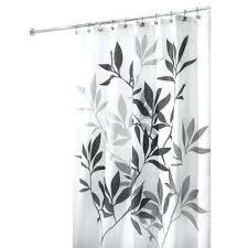 interdesign shower curtains leaves interdesign astor shower curtain tension rod