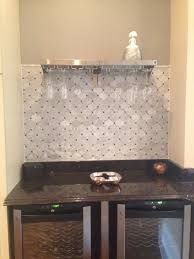 Marble Tile Backsplash Kitchen Shop 4 X 12 Highland Arabian Carrara Polished Marble Tile In White