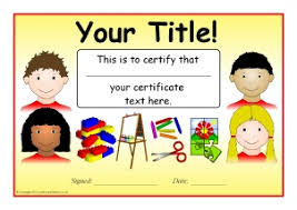 Printable Certificates Elementary School Download Them Or Print