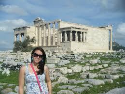The Erechtheion in Athens Greece Photograph by Nikki Borden