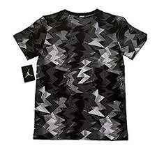 Libre Camiseta Deportes es Impreso Negro Retro Jordan Y 7 Aire Amazon