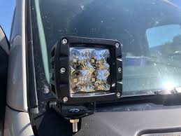 How To Install Led Lights In Car Exterior Installing Led Light Pods On Your Sprinter Van Quest Overland