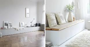 Ikea furniture hacks Malm Ikea Besta Seating Saatva Mattress The 15 Best Ikea Hacks You Have To Try Saatvas Sleep Blog