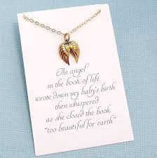 miscarriage necklace bereavement gift condolence gift condolence gifts infant loss miscarriage