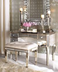 Makeup Vanity With Lights And Chair Tips Modern Mirrored Makeup Vanity For The Beauty Room