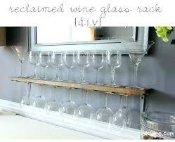 floating wine glass shelf rack shelves wall diy floating wine glass shelf rack shelves wall diy