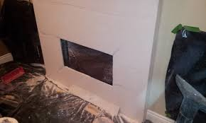 achieving a paintable fireplace surround with cement board 20160165 152726 jpg