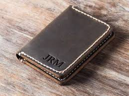 outstanding leather credit card holder for men leather