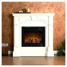 thin electric fireplace insert in contemporary infrared