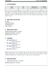 Microsoft Meeting Notes Template Project Notes Template Word Meeting Notes Template Free Word