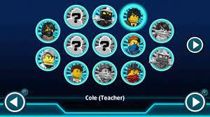 LEGO Ninjago: Nindroids - Cole (Teacher) Free Play Gameplay - YouTube