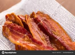 Bacon strips close up ⬇ Stock Photo, Image by © urban_light ...