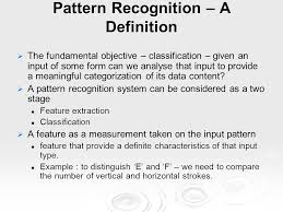 Pattern Recognition Amazing Chapter 48 Pattern Recognition ppt video online download