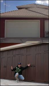 Faux Garage Door Windows Best 25 Faux Wood Garage Door Diy Ideas That You Will Like On